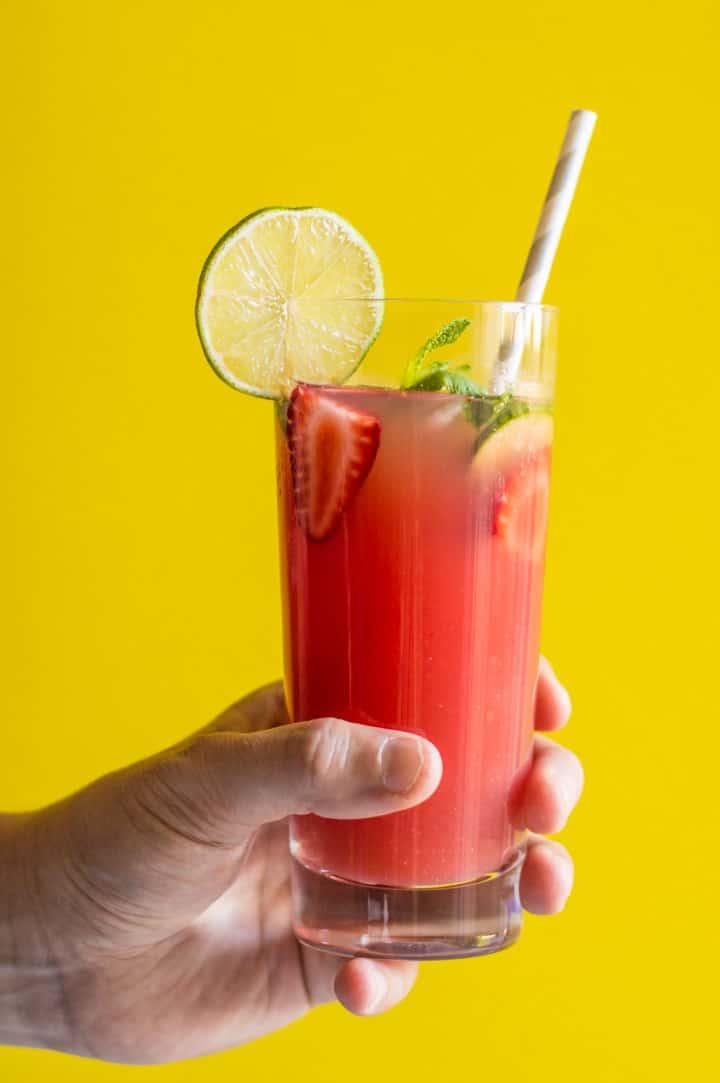 agua fresca print this naturally sweetened watermelon strawberry agua ...