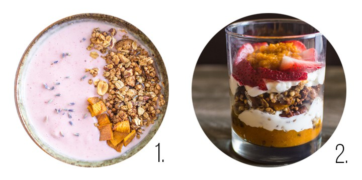 Granola recipes on healthynibblesandbits.com