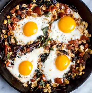 20-Minute Braised Egg Breakfast
