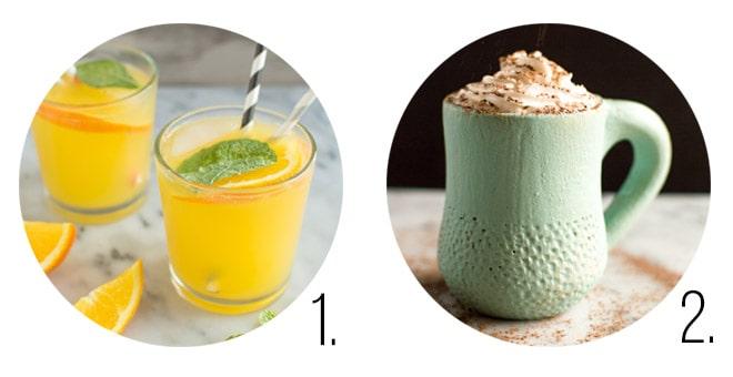 Drink Recipes by Lisa Lin at Healthy Nibbles & Bits