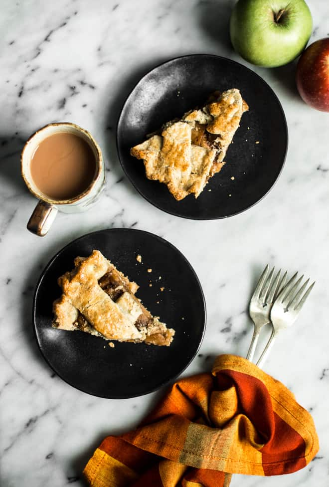 Gluten-Free Apple Pie with Coconut Sugar by Lisa Lin of Healthy Nibbles & Bits