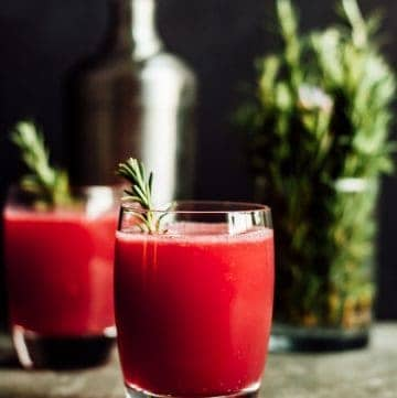 Pomegranate Apple Cider Spritzer