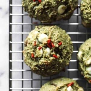 Gluten-Free Matcha Cookies