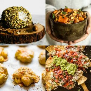50 Healthy Gluten-Free Appetizers - delicious bites that are perfect for game day or your next party!   healthynibblesandbits.com