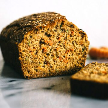 Carrot and Zucchini Olive Oil Cake (Gluten Free)