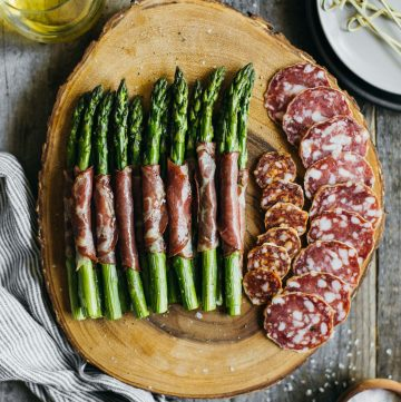 Dry Coppa Wrapped Asparagus