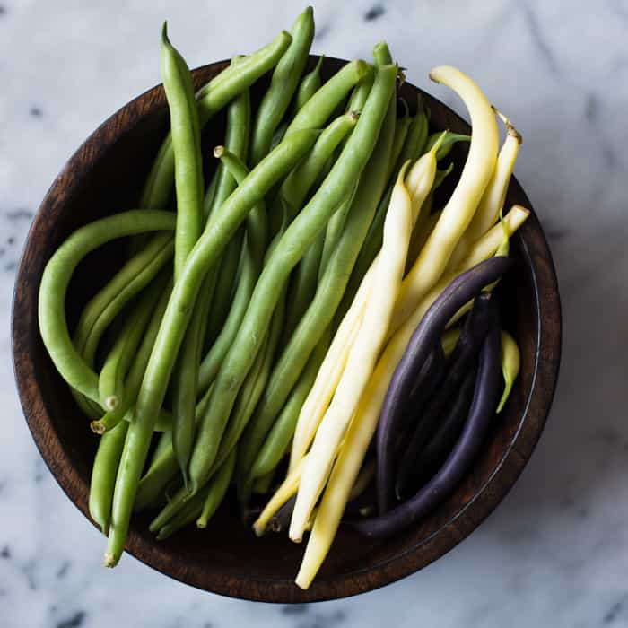 String beans from @healthynibs
