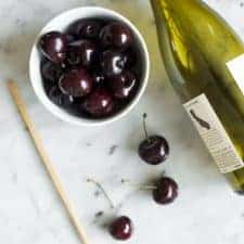 How to Pit Cherries Without a Pitter - an easy trick + video tutorial!
