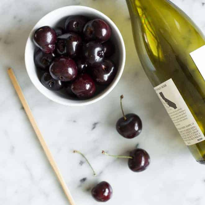 How to Pit Cherries Without a Pitter - an easy trick + video tutorial! by @healthynibs