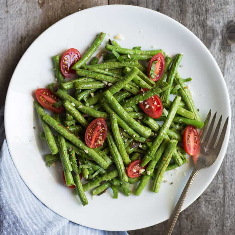 Green Bean Salads are perfect for summer! by @healthynibs