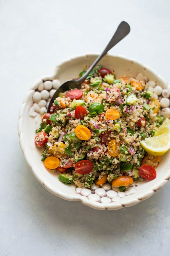 Quinoa Tabbouleh Salad - This is an updated version of the classic ...