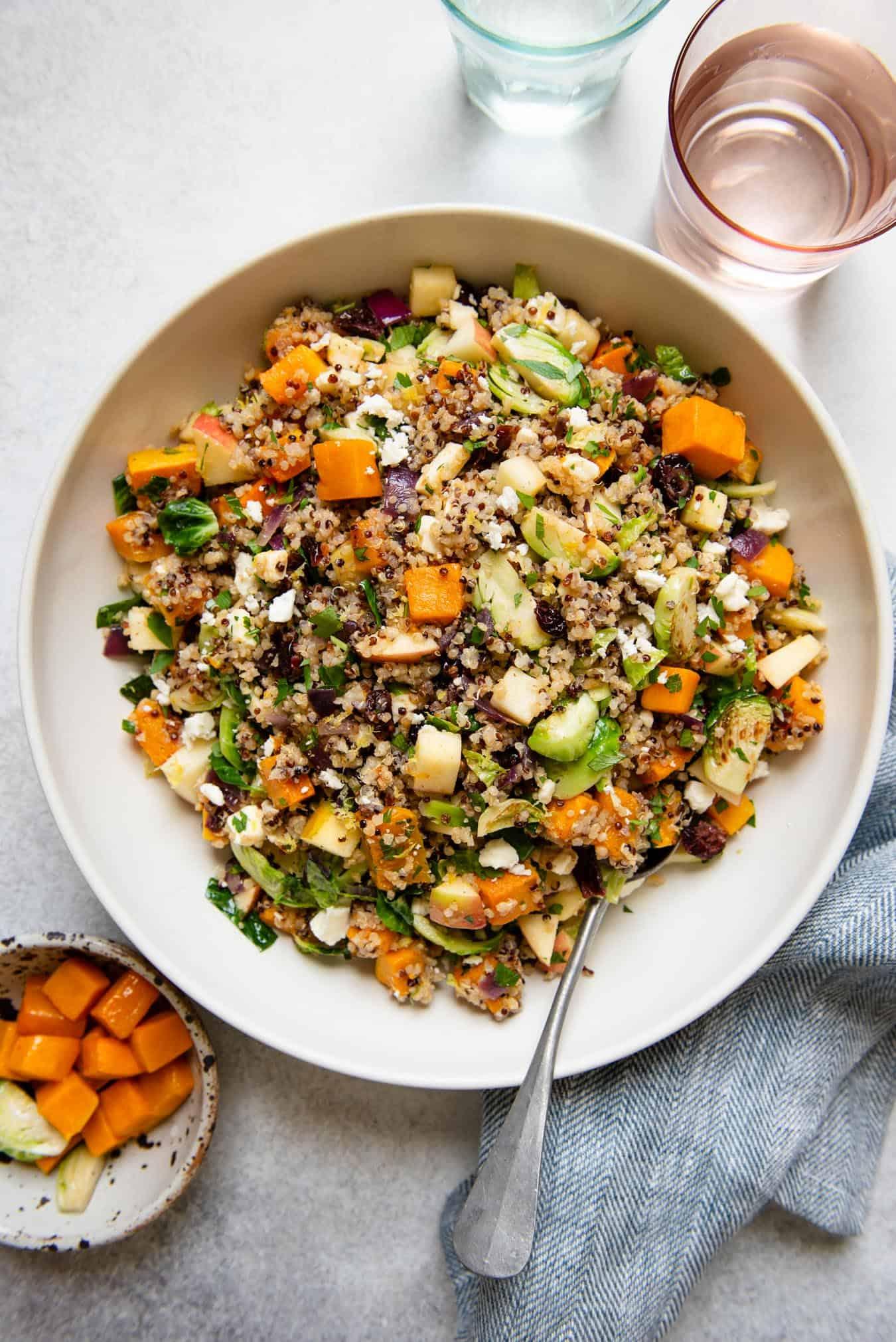 Fall Harvest Quinoa Salad Gluten Free Healthy Nibbles