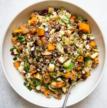 Fall Salad with Quinoa and Butternut Squash