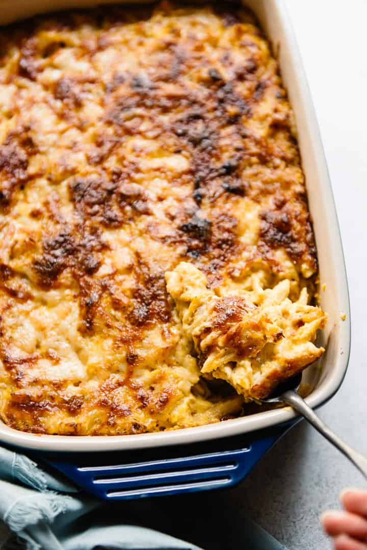 Baked Butternut Squash Mac and Cheese Recipe - healthy vegetarian mac and cheese!