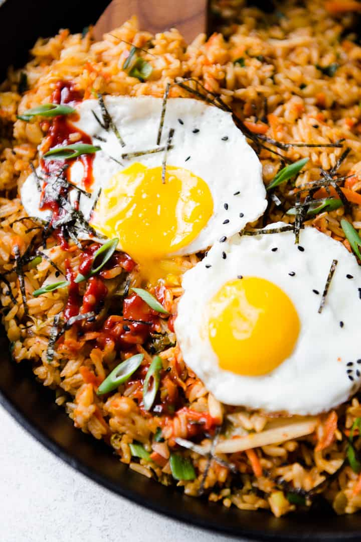 Easy Kimchi Fried Rice Recipe