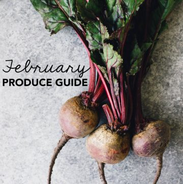 What to Cook in February: A Produce Guide