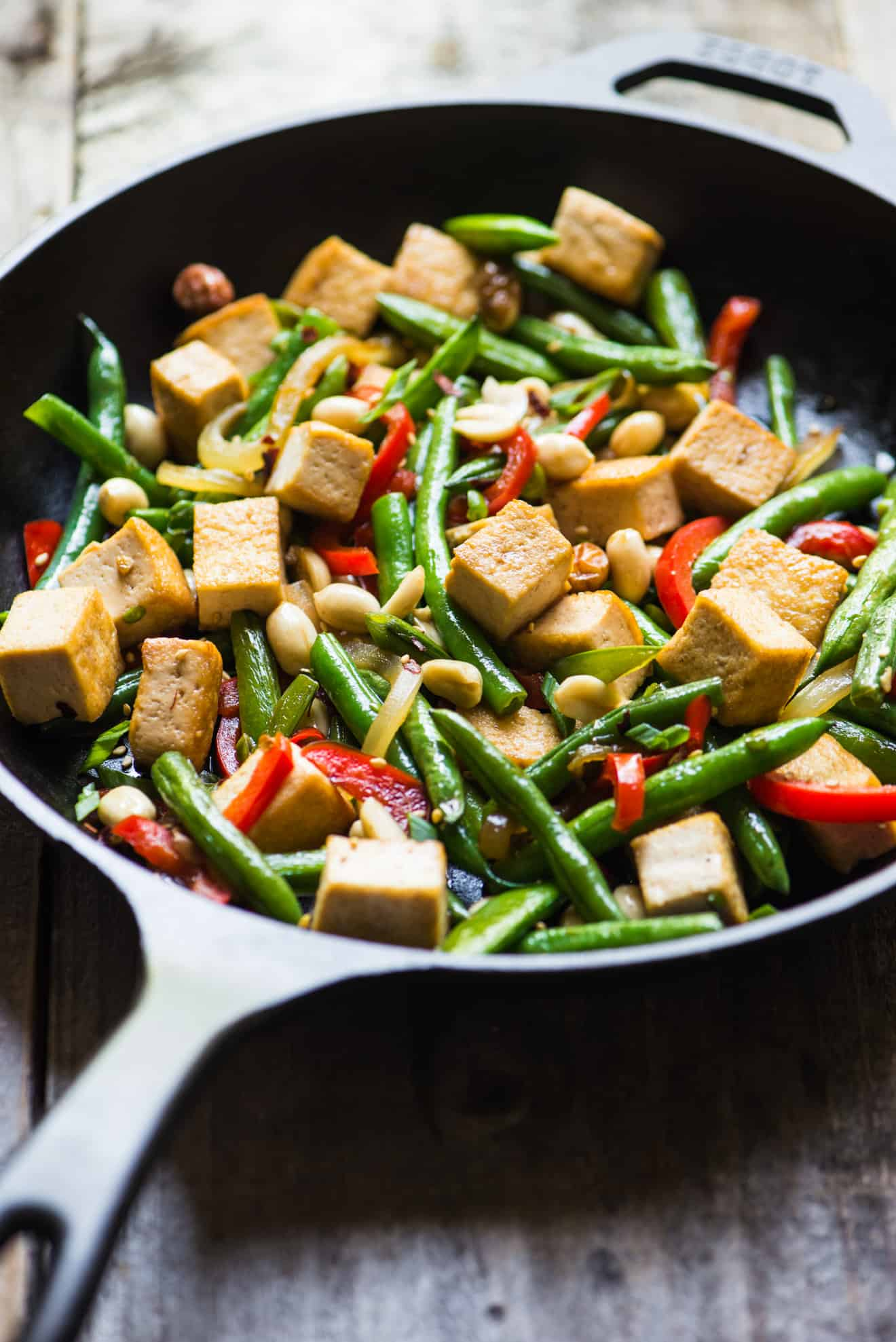 Kung Pao Tofu Stir Fry - easy and healthy stir fry that takes only 30 ...