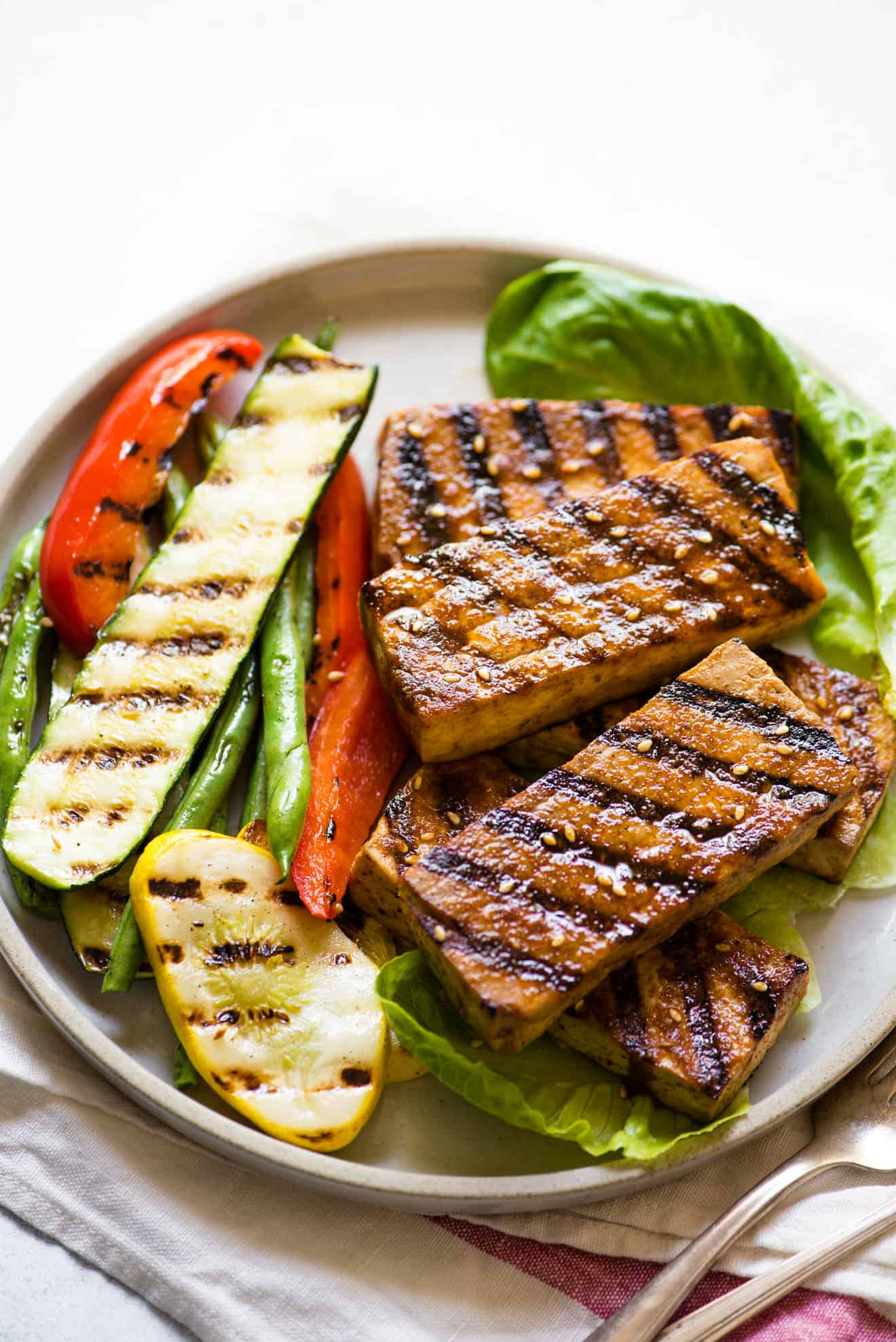 Cajun Spiced Grilled Tofu Healthy Nibbles