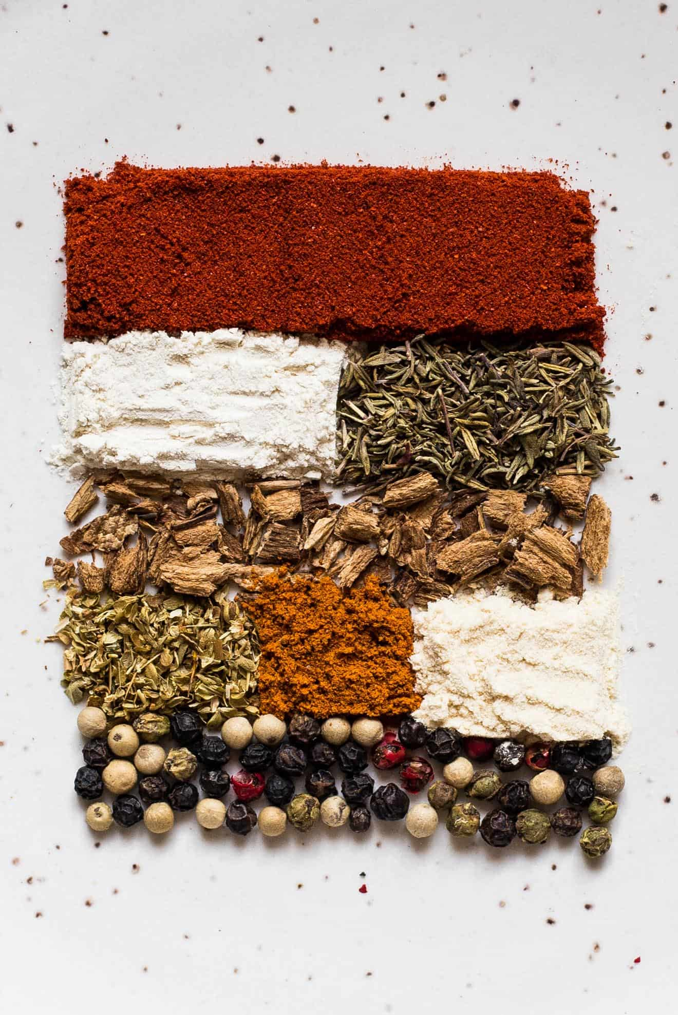 HOMEMADE Cajun Seasoning with Porcini Mushroom Powder - this spice blend is great on chicken, salmon, marinades and soups!