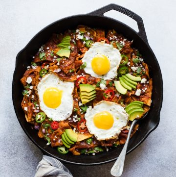 Chilaquiles with Gochujang
