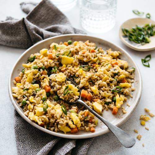 the easiest egg fried rice 15 minutes healthy nibbles