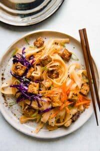 Coconut Stir Fry Noodles