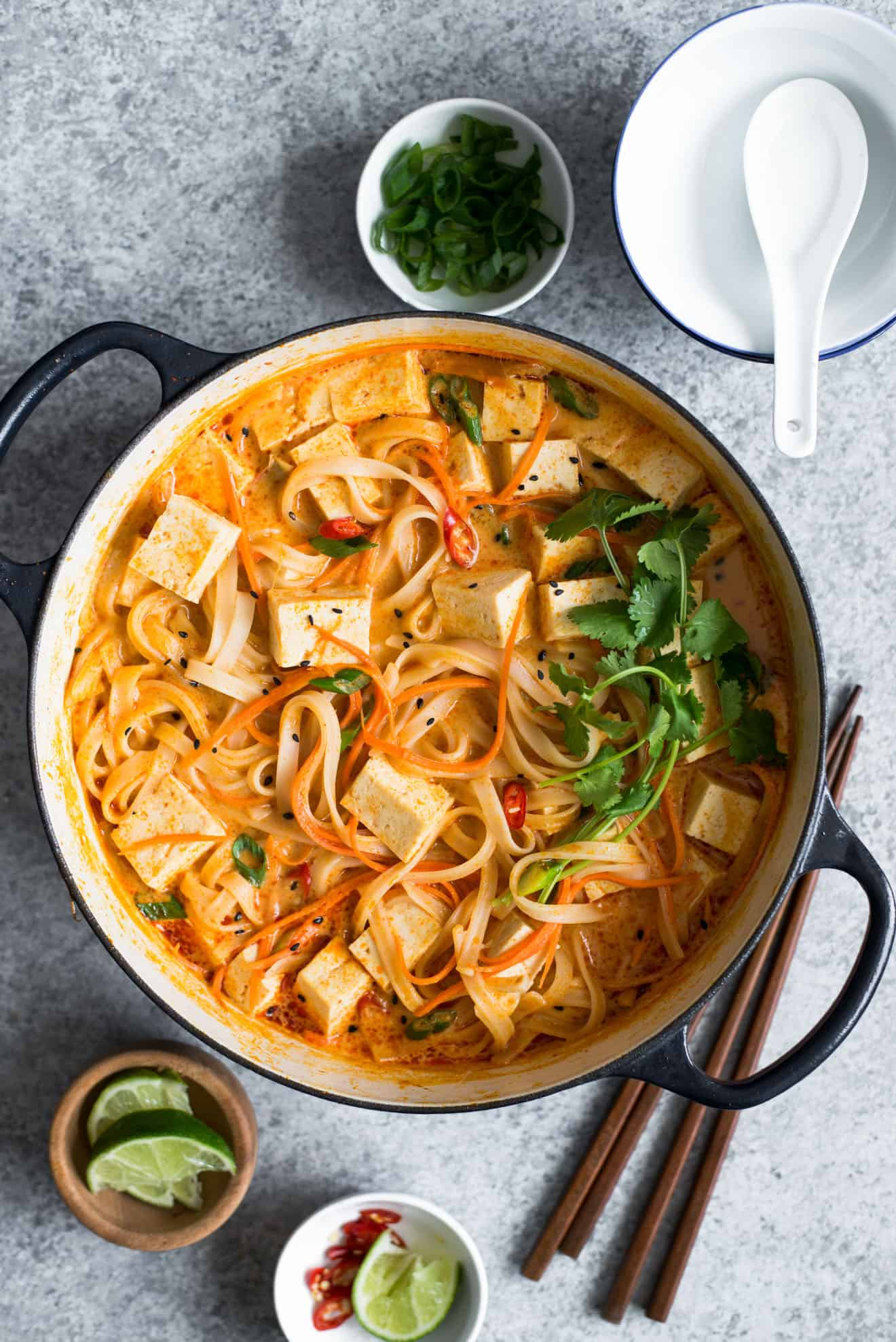 One Pot Curry Noodles