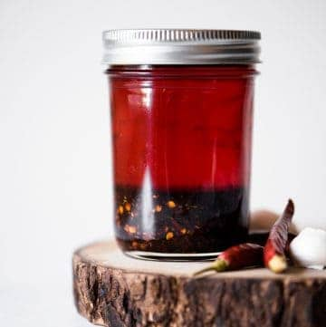 How to Make Chili Oil - easy chili oil recipe made with 6 ingredients only