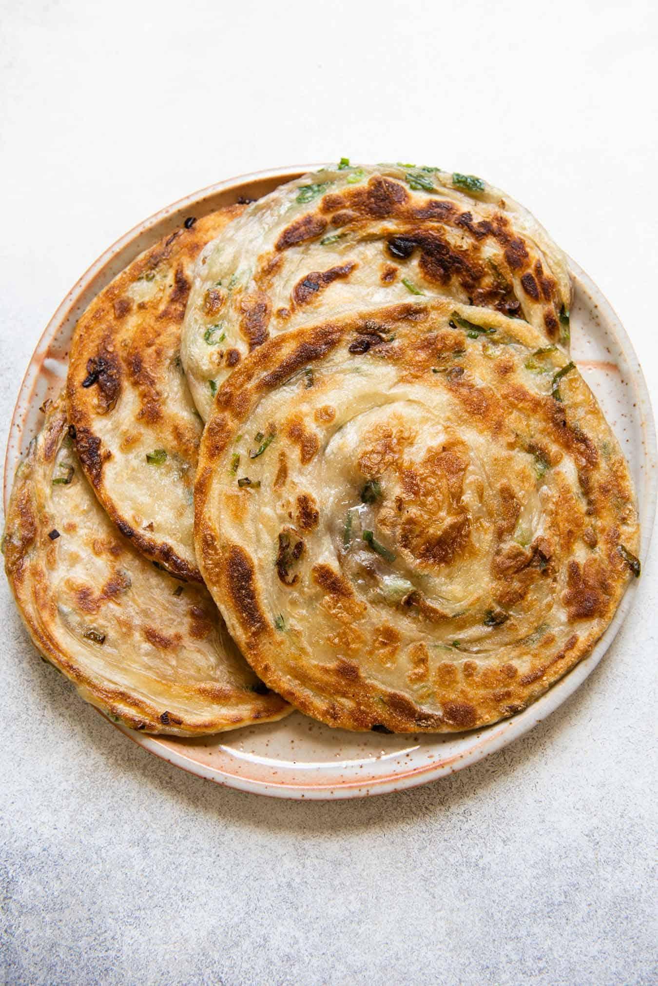 Extra Flaky Scallion Pancakes