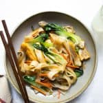 Teriyaki Noodle Stir Fry - a vegan meal ready in less than 30 minutes