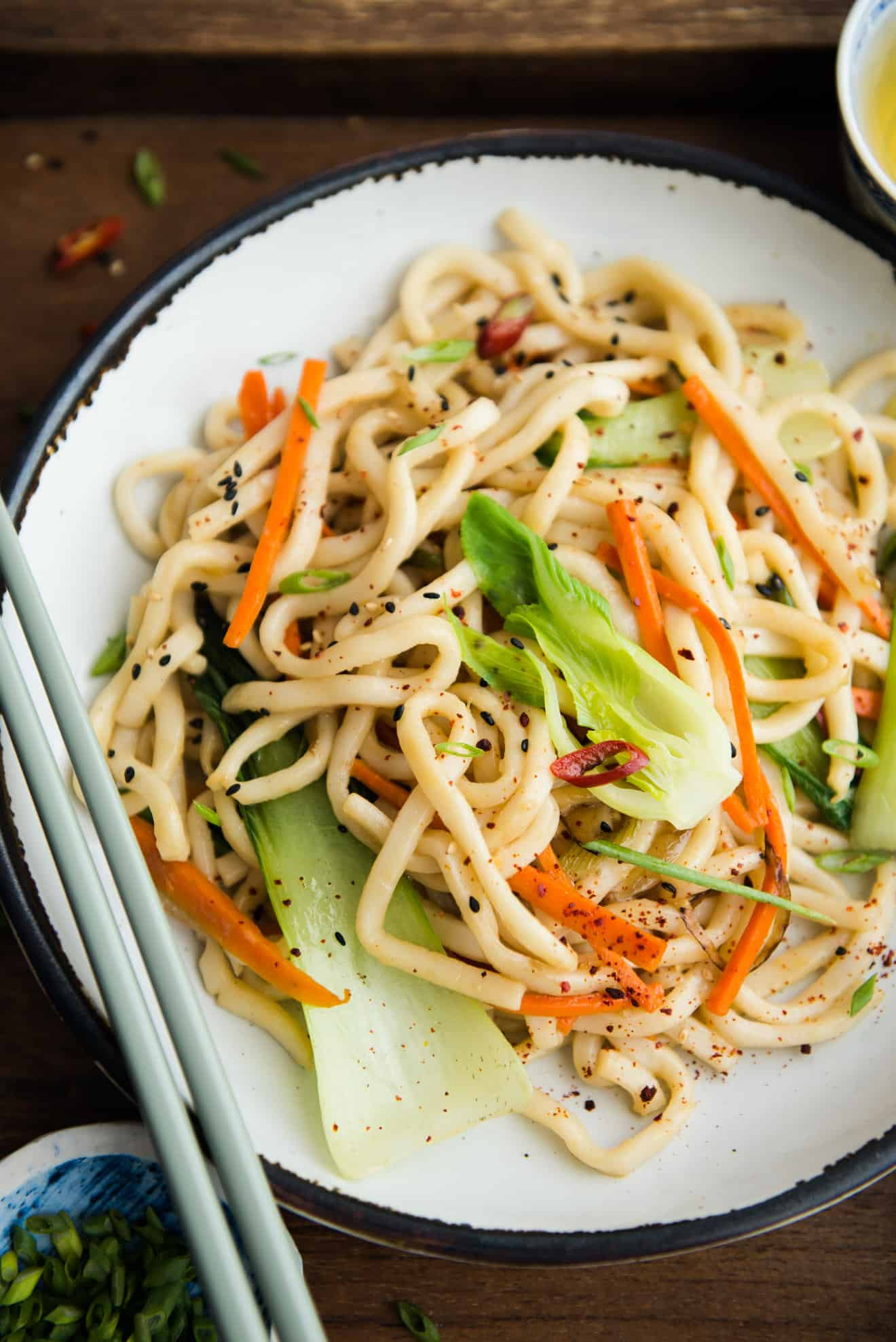 How to Make Teriyaki Sauce - you can use the teriyaki sauce to season noodles!