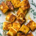 Curried Fried Paneer Recipe
