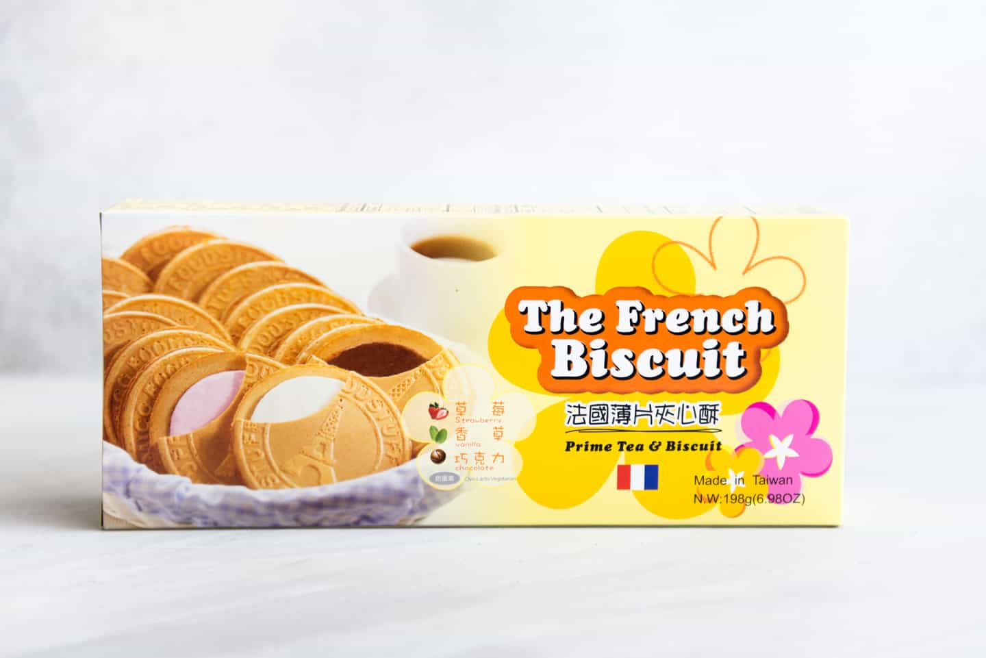 Chinese French Biscuits