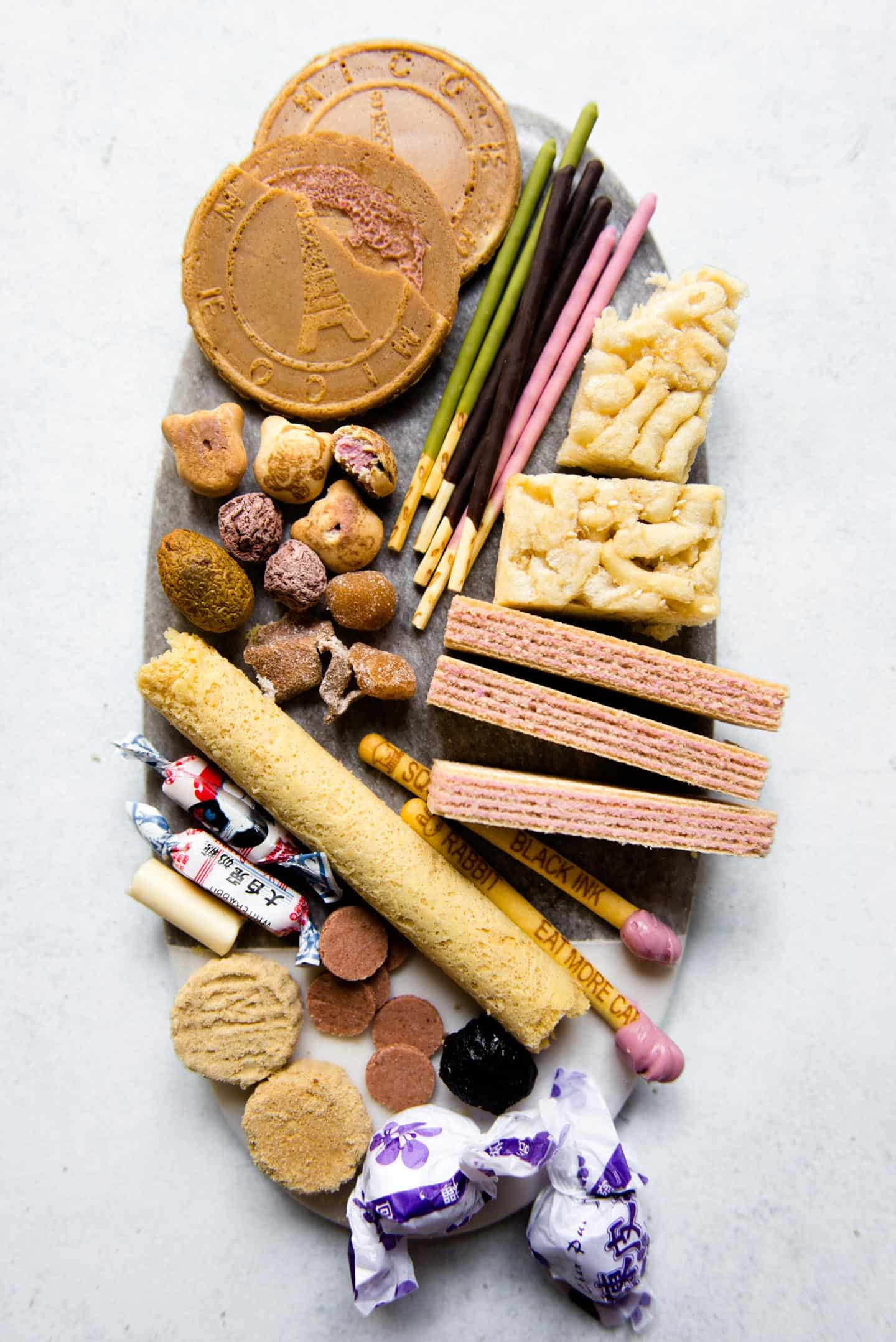 Sweet Asian Snacks