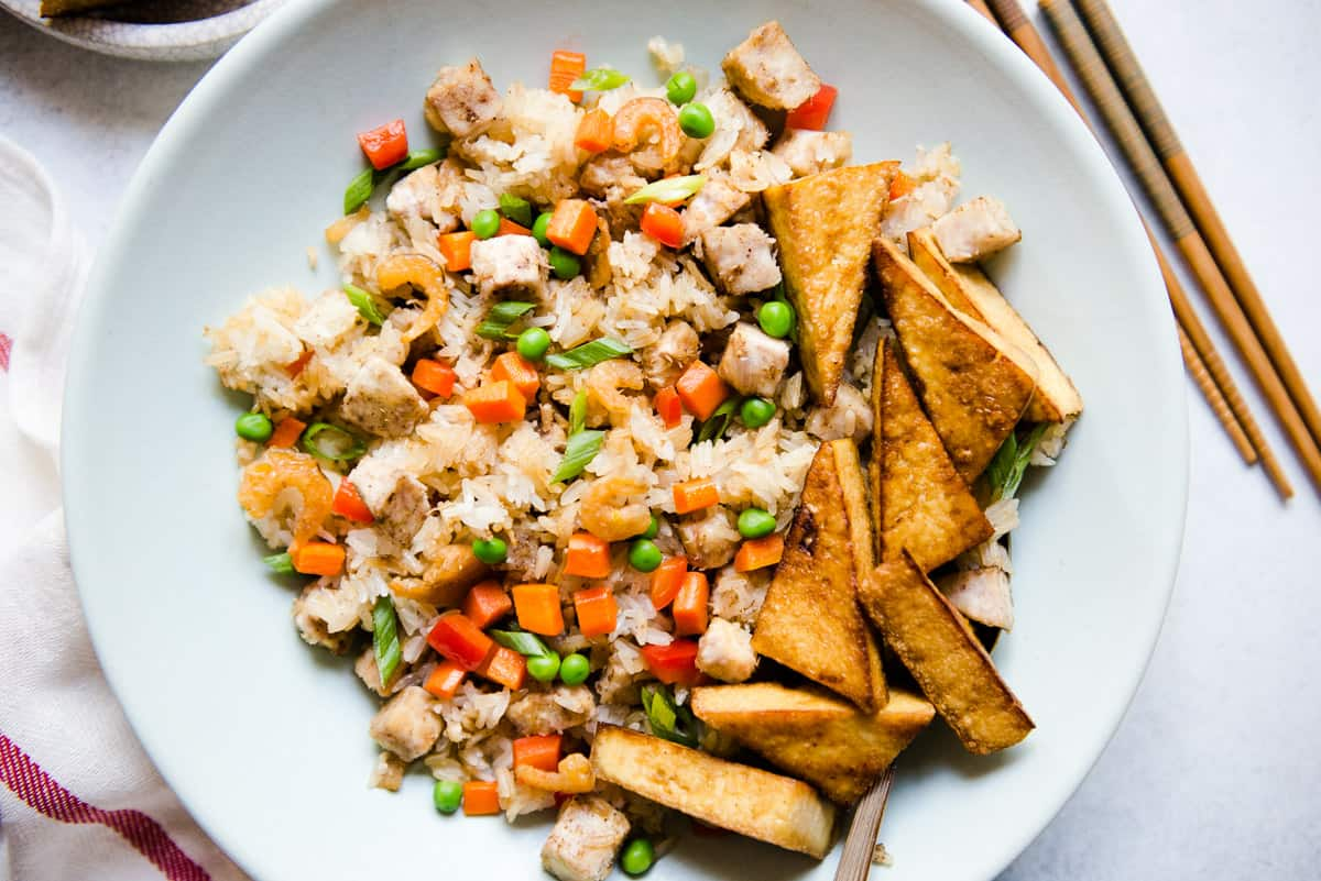Chinese Sticky Rice Recipe - a classic southern Chinese dish that is great for dinner