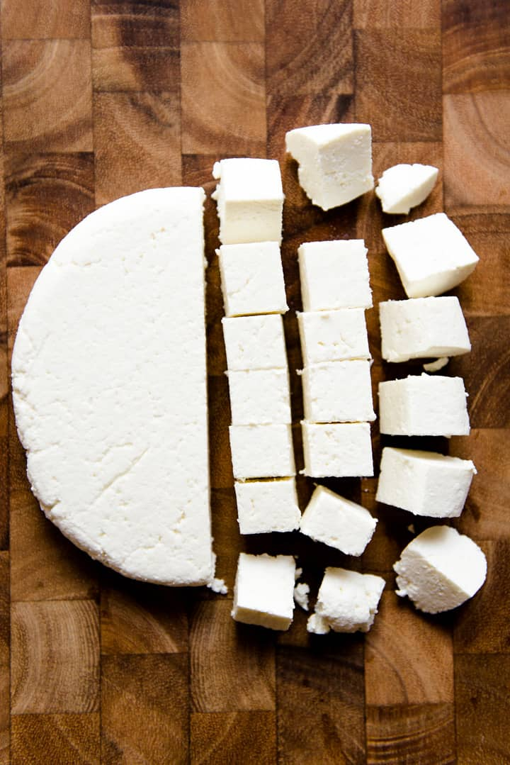 How to Make Paneer - a step-by-step paneer recipe on how to make paneer from scratch!