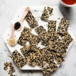 Easy Sesame Candy Recipe - made with just 5 ingredients!