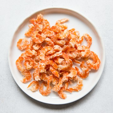 Vibrant Dried Shrimp