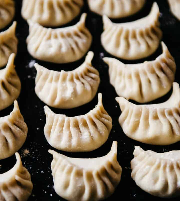 How to Freeze Dumplings Square Image