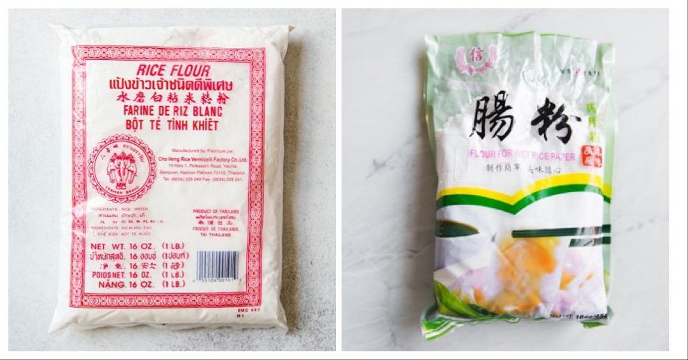 Rice Flour Collage