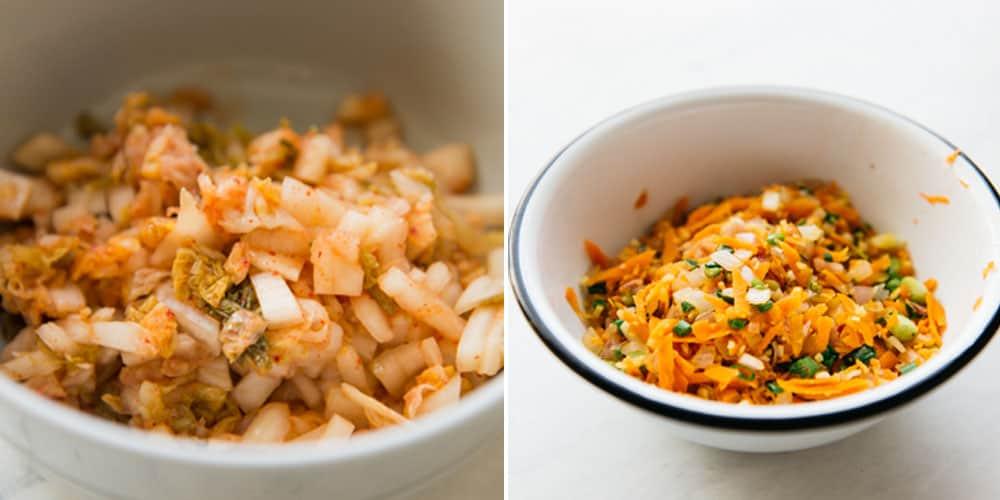 Kimchi and Carrots