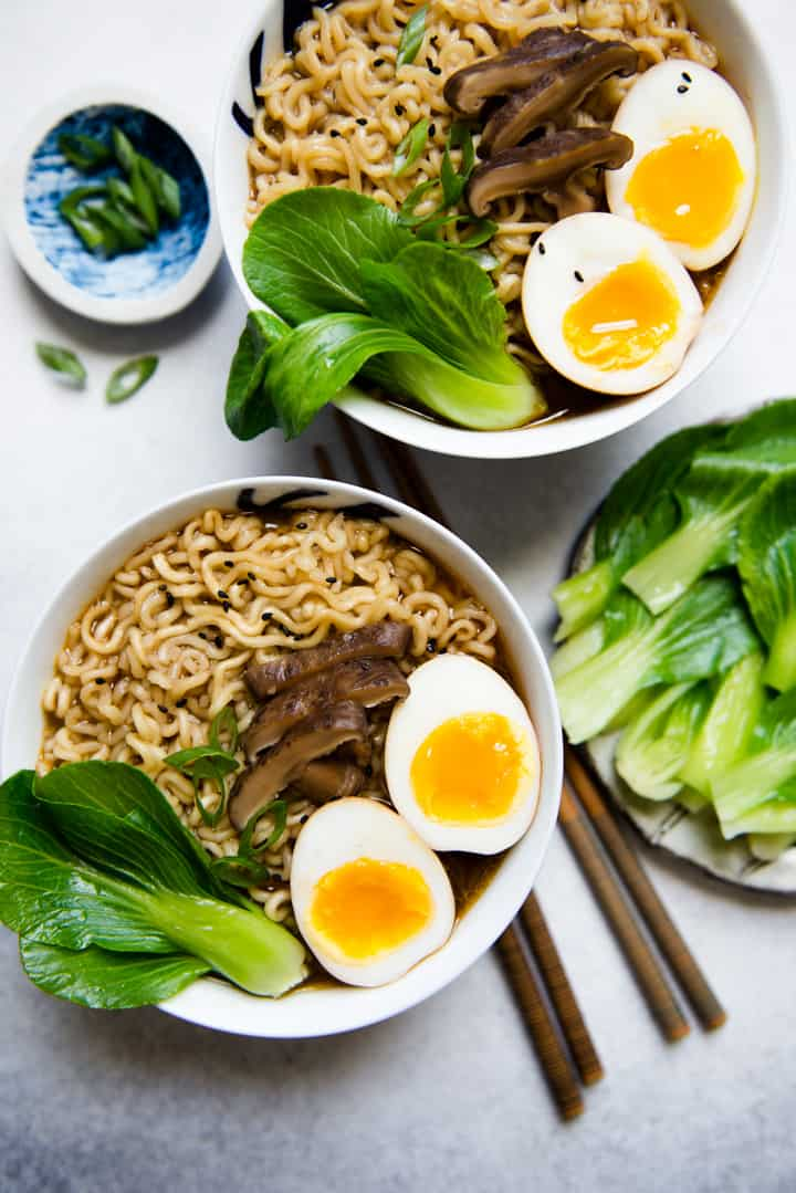 Easy Vegetarian Ramen Recipe Healthy Nibbles