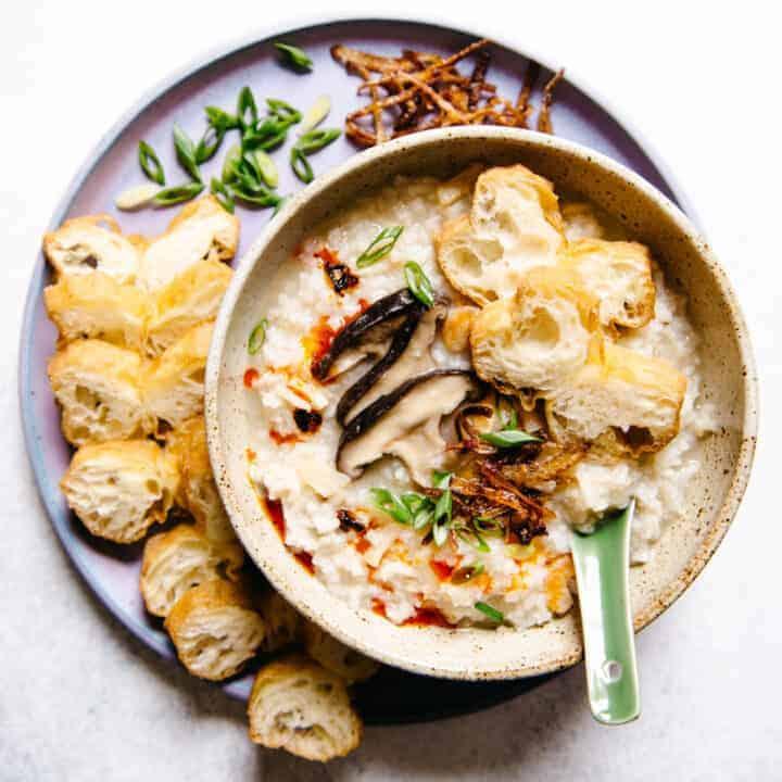 Basic Congee Recipe - a simple recipe for Chinese rice porridge!