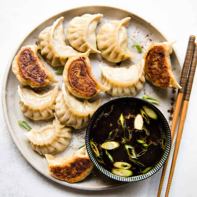 Soy and Vinegar Dumpling Sauce - simple sauce for dumplings