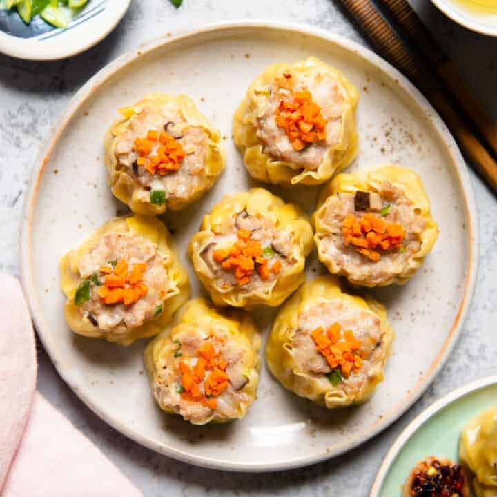 Cantonese Shumai (Siu Mai, 燒賣)