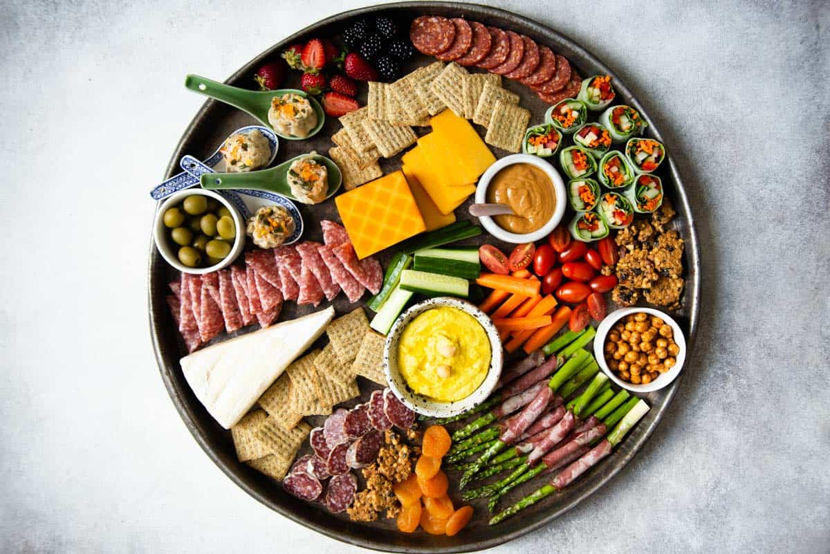 How To Make A Grazing Platter Healthy Nibbles