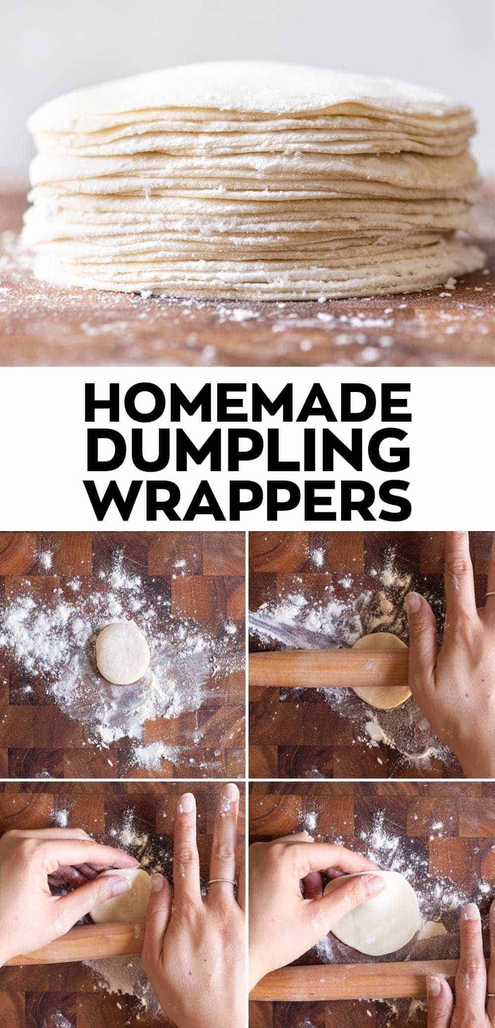 How to Make Dumpling Wrappers - Step-by-step guide
