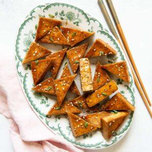 Pan-Fried Teriyaki Tofu