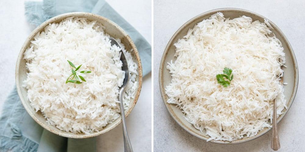Basmati Rice Soaking