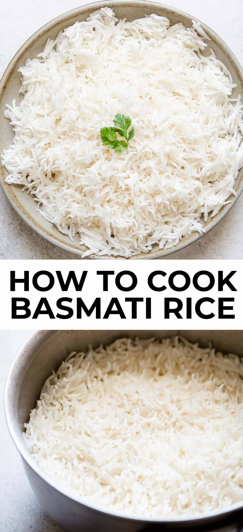 How to Cook Basmati Rice: Stovetop, Instant Pot & Slow Cooker